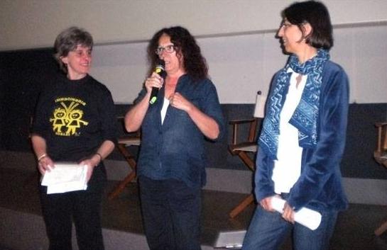 2014 Debora Guma Cristina Zanetti Elena Rossi - Immaginaria a LFS Cinema Aquila Roma