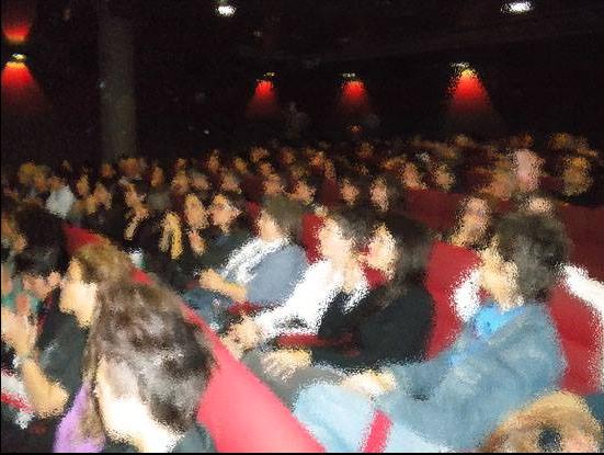 2014 Immaginaria a LFS Cinema Aquila Roma pubblico con filtro