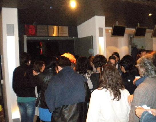 2014 Immaginaria a LFS Ingresso del pubblico al Cinema Aquila Roma
