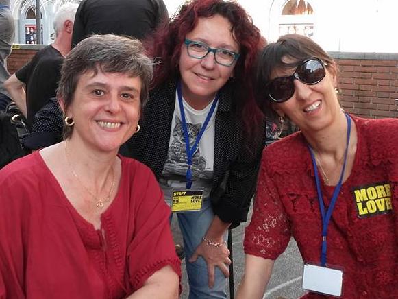 2015 Debora Guma Cristina Zanetti Elena Rossi al Festival Mix Milano