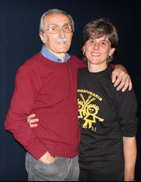 2015 Debora Guma e Antonio Sancassani direttore del Cinema Mexico Milano