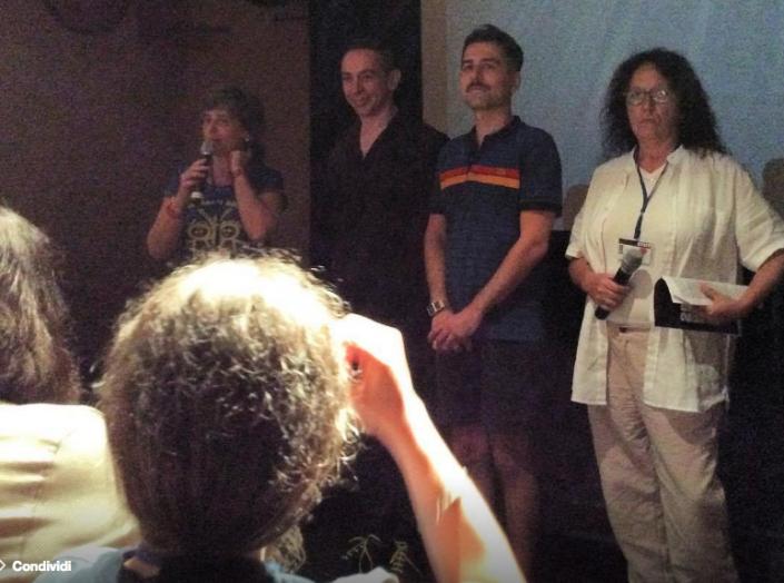 2016 Debora Guma Giampaolo Marzi Rafael Maniglia Cristina Zanetti al Festival Mix Milano