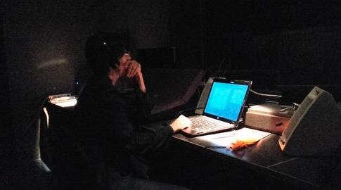 2017 Elena Rossi in cabina di regia lancia i sottotitoli in diretta Festival Mix Milano