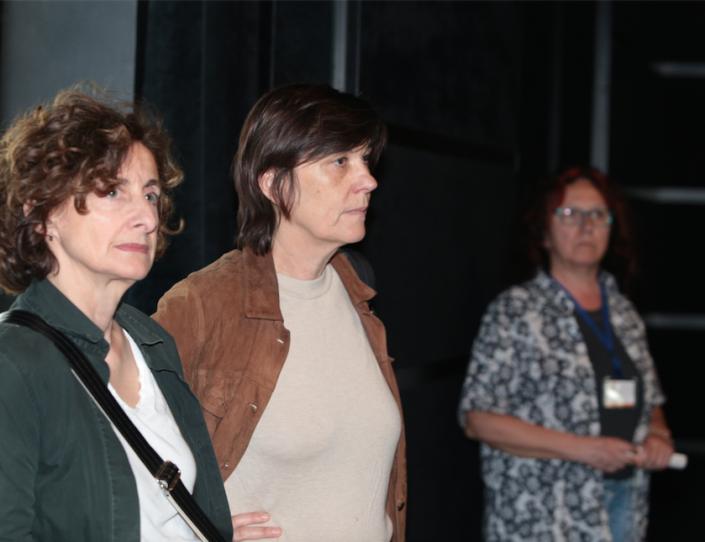 2.Immaginaria 2018. La produttrice Elizabeth Perez e la regista Catherine Corsini alla presentazione del loro film La Belle Saison